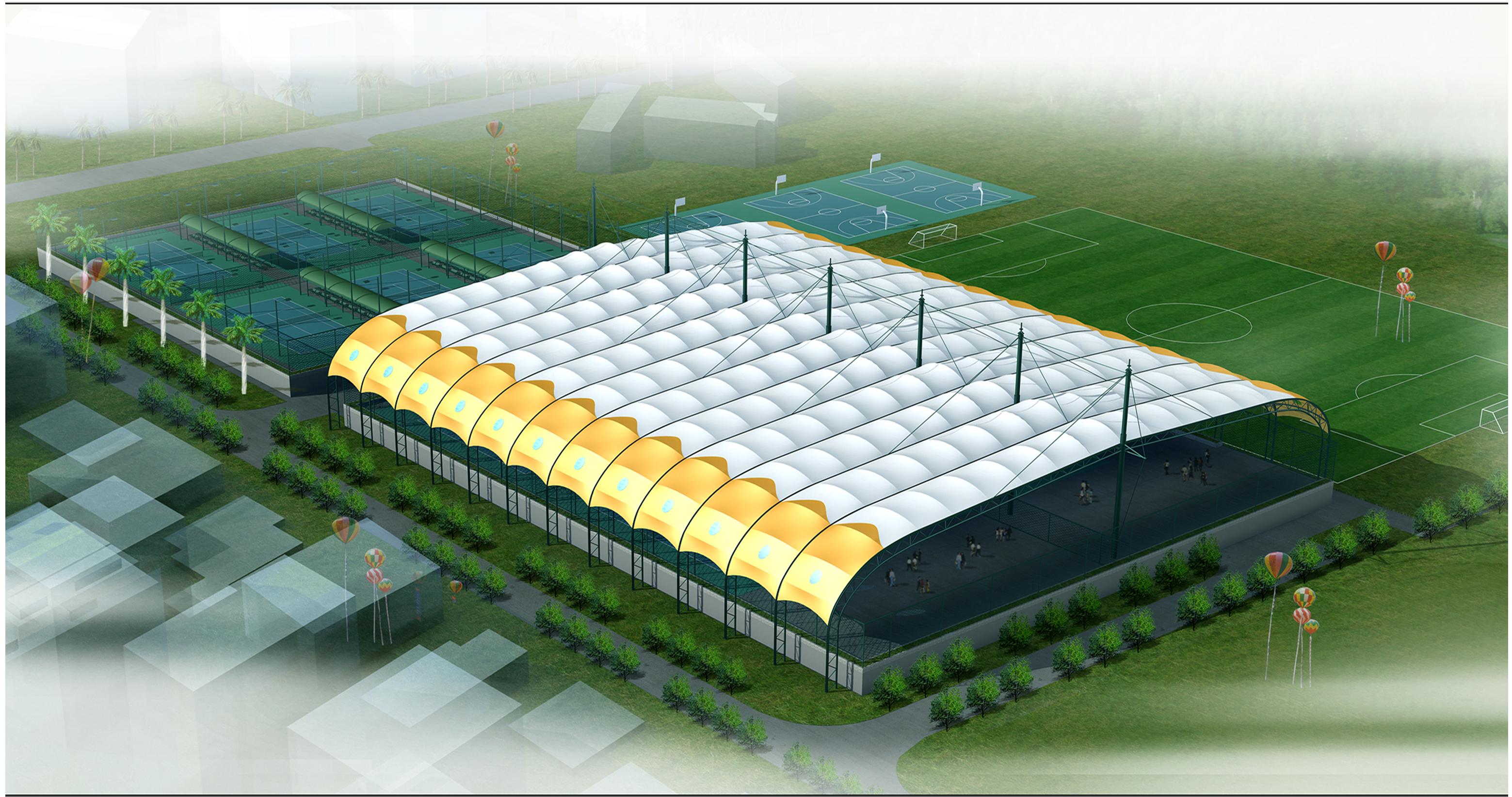 遮阳棚膜结构工程